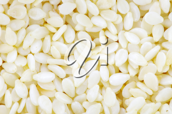Royalty Free Photo of a Pile of Sesame Seeds