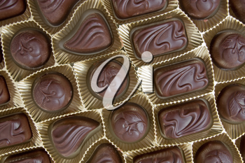 Royalty Free Photo of Chocolate Pralines